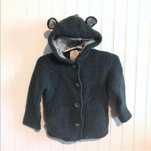 Zara Baby Hooded Sweater 18-24 Months
